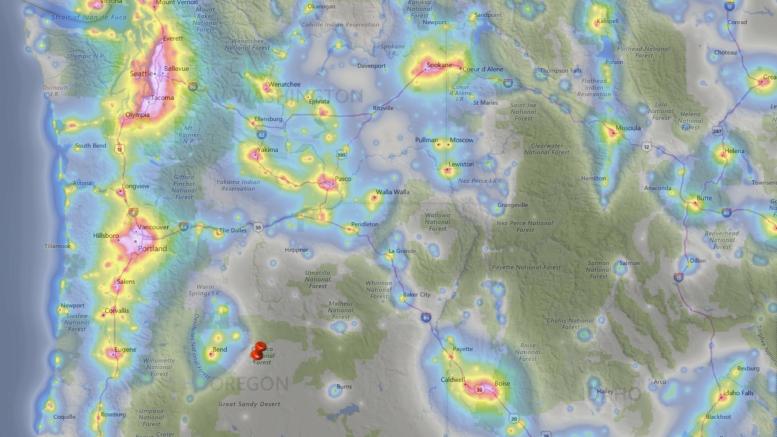 Bortle Scale International Dark Sky Association Buying Land Light Pollution COVID