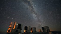 Perseid Meteor Shower Milky Way
