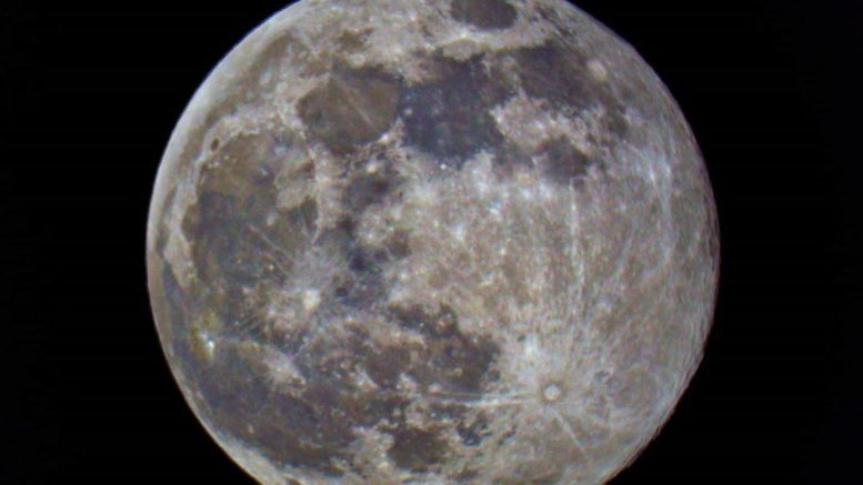 Supermoon winter astronomical targets Lunar Craters 2022 astronomical events Blue Moon