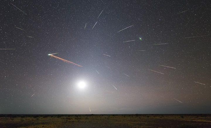 Eta Aquirids Meteor Showers