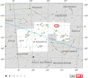 Messier 2 Location