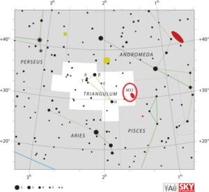 Messier 33 Triangulum Galaxy