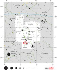 Messier 43 De Mairan's Nebula