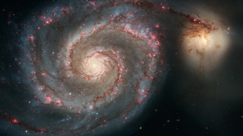 Messier 51 The Whirlpool Galaxy