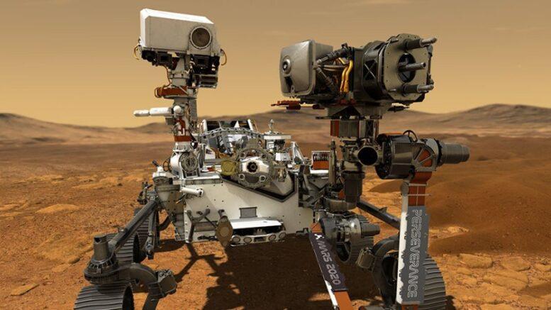 Mars Perseverance Rover Mars 2020